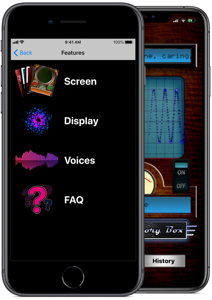 Spirit Story Box - iPhone Paranormal Ghost Hunting App